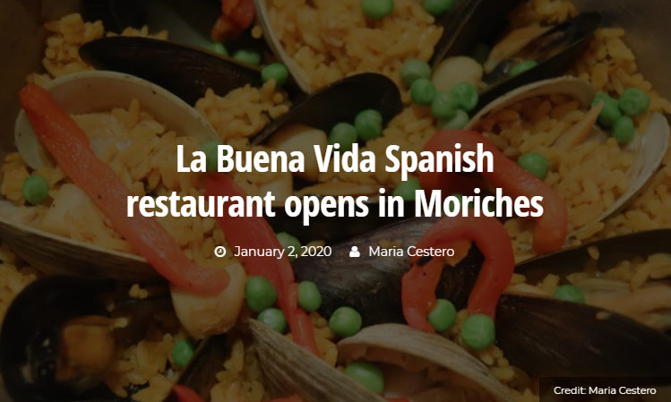La Buena Vida Spanish Restaurant Opens in Moriches